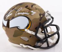 Kirk Cousins Signed Vikings Camo Alternate Speed Mini Helmet (Beckett COA & Cousins Hologram) at PristineAuction.com