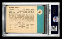 Jerry West 1961-62 Fleer #43 RC (PSA 8) (MC) at PristineAuction.com