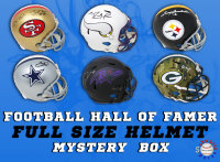 Schwartz Sports Football Hall of Famer Signed Full Size Helmet Mystery Box Series 11 (Limited to 75) at PristineAuction.com