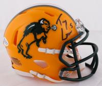 Trey Lance Signed North Dakota State Bison Speed Mini Helmet (Beckett COA) at PristineAuction.com