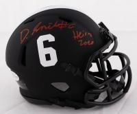"DeVonta Smith Signed Alabama Crimson Tide Eclipse Alternate Speed Mini Helmet Inscribed ""Heisman 2020"" (Beckett COA) at PristineAuction.com"