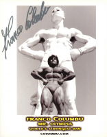 Franco Columbu Signed 8x10 Photo (AutographCOA Hologram) at PristineAuction.com
