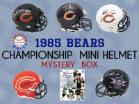 Schwartz Sports – 1985 Chicago Bears Champions Signed Mini Helmet Mystery Box– Series 10 - (Limited to 100) at PristineAuction.com