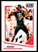 Lamar Jackson 2018 Score #352 RC at PristineAuction.com