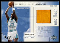 Michael Jordan 2001-02 Upper Deck Ovation MJ UNC Memorabilia #MJF4 Floor at PristineAuction.com