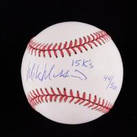 "Mike Mussina Signed OAL Baseball Inscribed ""15 K's"" (JSA COA) (See Description) at PristineAuction.com"