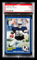 Michael Irvin 1989 Score #18 RC (PSA 7) at PristineAuction.com