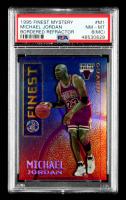 Michael Jordan 1995-96 Finest Mystery Bordered Refractors #M1 (PSA 8) (MC) at PristineAuction.com