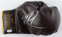 Mike Tyson Signed Vintage Everlast Leather Boxing Glove (PSA COA) at PristineAuction.com