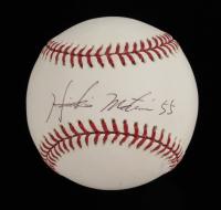 Hideki Matsui Signed Yankees Logo OML Baseball (JSA COA) at PristineAuction.com