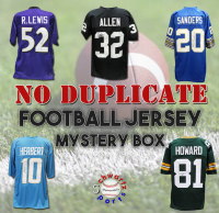 Schwartz Sports NO DUPLICATES Signed Football Jersey Mystery Box - Series 1 (Limited to 75) at PristineAuction.com