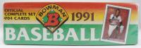 1991 Bowman Baseball Card Box Complete Set at PristineAuction.com