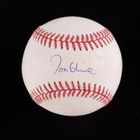 Tom Glavine Signed ONL Baseball (JSA COA) (See Description) at PristineAuction.com