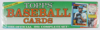 1990 Topps Complete Set of (792) Baseball Cards with Frank Thomas #414 RC, Sammy Sosa #692 RC at PristineAuction.com