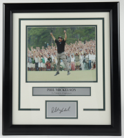 Paul Mickelson 16x18 Custom Framed Photo Display at PristineAuction.com
