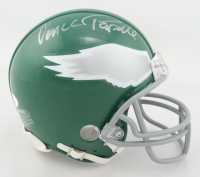 Vince Papale Signed Eagles Throwback Mini-Helmet (JSA COA) at PristineAuction.com