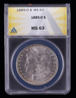 1885-O Morgan Silver Dollar (ANACS MS63) at PristineAuction.com