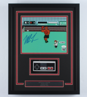 "Mike Tyson Signed ""Punch-Out!!"" 15x19 Custom Framed Photo Display with Controller (JSA COA & Fiterman Sports Hologram) at PristineAuction.com"
