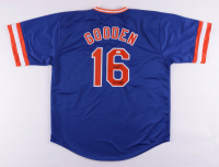 """Dwight """"Doc"""" Gooden Signed Jersey Inscribed """"86 WS Champs"""" (JSA Hologram) at PristineAuction.com"""