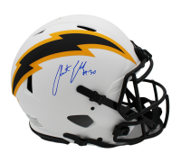 Austin Ekeler Signed Chargers Full-Size Authentic On-Field Lunar Eclipse Alternate Speed Helmet (Radtke COA) at PristineAuction.com