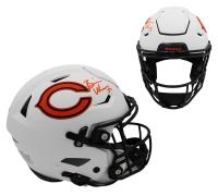 Brian Urlacher Signed Bears Full-Size Authentic On-Field Lunar Eclipse Alternate SpeedFlex Helmet (Radtke COA) at PristineAuction.com