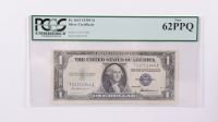 1935F $1 Silver Certificate Bank Note (PCGS Currency New 62 PPQ) at PristineAuction.com