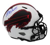 Bruce Smith Signed Bills Full-Size Lunar Eclipse Alternate Speed Helmet (Radtke COA) at PristineAuction.com