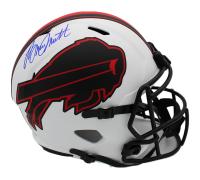 Bruce Smith Signed Bills Full-Size Lunar Eclipse Alternate Speed Helmet (Radtke COA) at PristineAuction.com
