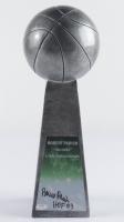 "Robert Parish Signed 14"" Basketball Championship Trophy (Schwartz COA) at PristineAuction.com"