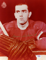 "Maurice ""Rocket"" Richard Signed Canadiens 8x10 Photo (PSA COA) at PristineAuction.com"