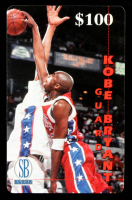 Kobe Bryant 1996 Score Board Frontier Phone Cards #9 $100 at PristineAuction.com