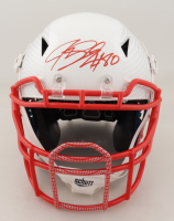 Jeremy Shockey Signed Full-Size Authentic On-Field Hydro-Dipped Vengeance Helmet (Beckett COA) at PristineAuction.com