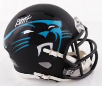 D.J. Moore Signed Panthers AMP Alternate Speed Mini-Helmet (JSA COA) at PristineAuction.com