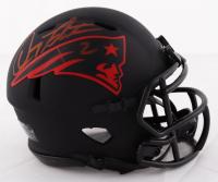 Doug Flutie Signed Patriots Mini Speed Helmet (Beckett COA) at PristineAuction.com