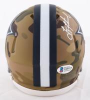 Troy Aikman Signed Cowboys Camo Alternate Speed Mini Helmet (Beckett COA) at PristineAuction.com