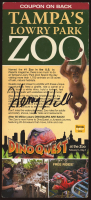Henry Hill Signed Tampa's Lowry Park Zoo Brochure (PSA COA) at PristineAuction.com