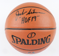 "Jack Sikma Signed NBA Game Ball Series Basketball Inscribed ""HOF 19"" (Schwartz COA) at PristineAuction.com"
