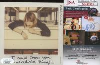 "Taylor Swift Signed ""1989"" CD Booklet (JSA COA) at PristineAuction.com"