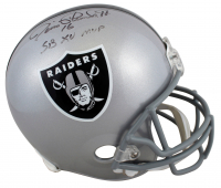 "Jim Plunkett Signed Raiders Full-Size Helmet Inscribed ""SB XV MVP"" (Beckett COA) at PristineAuction.com"