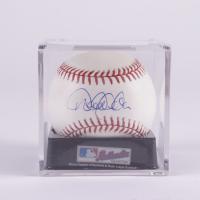 Derek Jeter Signed OML Baseball with Display Case (Beckett LOA & Marshall LOA) at PristineAuction.com