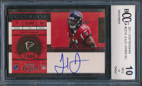 Julio Jones 2011 Playoff Contenders #221A Autograph RC (BCCG 10) at PristineAuction.com
