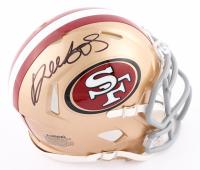 Deebo Samuel Signed 49ers Speed Mini Helmet (Beckett COA) at PristineAuction.com