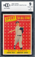 Mickey Mantle 1958 Topps #487 AS TP (BCCG 9) at PristineAuction.com