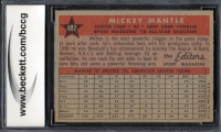 Mickey Mantle 1958 Topps #487 All-Star (BCCG 9) at PristineAuction.com