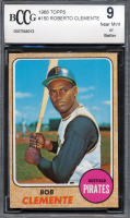 Roberto Clemente 1968 Topps #150 (BCCG 9) at PristineAuction.com