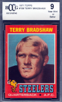 Terry Bradshaw 1971 Topps #156 RC (BCCG 9) at PristineAuction.com