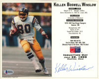 Kellen Winslow Signed Chargers 8x10 Photo (Beckett COA) at PristineAuction.com