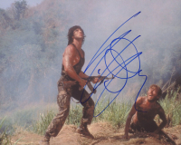 "Sylvester Stallone Signed ""Rambo"" 8x10 Photo (AutographCOA LOA) at PristineAuction.com"