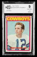 Roger Staubach 1972 Topps #200 RC (BCCG 9) at PristineAuction.com