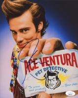 "Jim Carrey Signed ""Ace Ventura Pet Detective"" 8x10 Photo (JSA Hologram) at PristineAuction.com"
